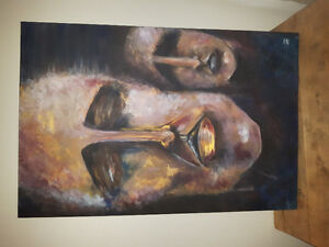 Peinture acrylique sur toile