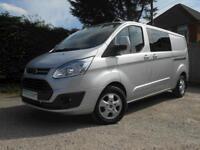 Ford Transit Custom 290 Limited L2 DCiV Van 2.2 125ps Only 9k miles