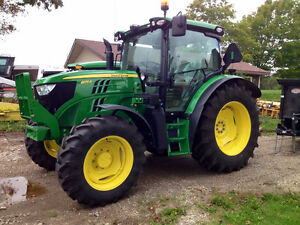 Private Rental of John Deere 6125R