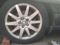 Jaguar Alloy Wheels and Tyres