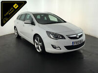 2012 VAUXHALL ASTRA SRI CDTI DIESEL ESTATE 1 OWNER FROM NEW FINANCE PX WELCOME