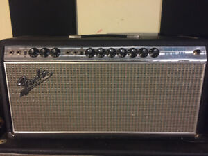Vintage late 60s fender bandmaster reverb amp . Great condition.