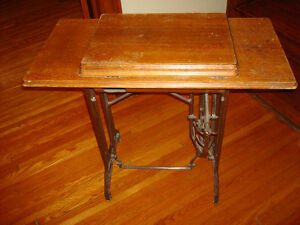 Antique Sewing Machine Stand