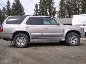 2000 Toyota 4 runner limited edition