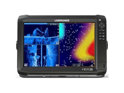 Lowrance HDS-12 Carbon 12in Touch Combo Head Only (No Maps,No TDX