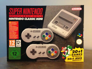 SNES Super Nintendo Classic Mini EU
