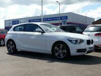 2013 BMW 1 Series 116i Sport 3dr ++ BLUETOOTH BMW SERVICE HISTORY ++ HATCHBACK