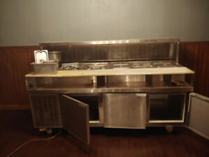 Used cold buffet for restaurant Buffet froid pour restaurant