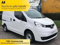 2013 Nissan NV200 1.5dCi SE 110ps [ Mobile Workshop Racking ] Van TSLD Low miles