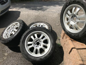 4 mags rims roues 17po universelle 5x114.3 & 5x100