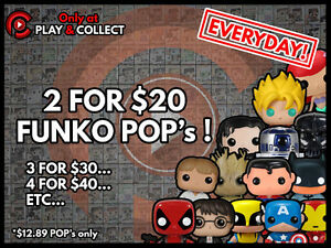 * Play & Collect * Funko POP! POKEMON, PS4, PS3, XBOX ONE