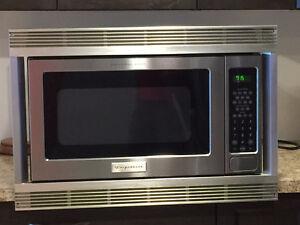SS Microwave W Trim kit