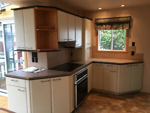 Kitchen cabinets counter. Armoires