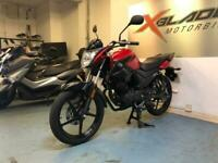 Yamaha YS 125 Manual Motorcycle, 2018, Red, Low Miles, V Good Condition