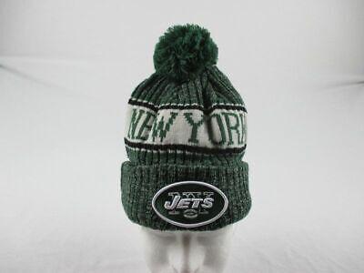 New York Jets New Era Hat Men's Green Winter Hat New Size OS