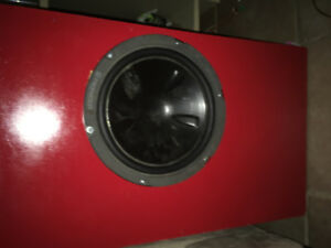 10 inch sub with ported enclosure