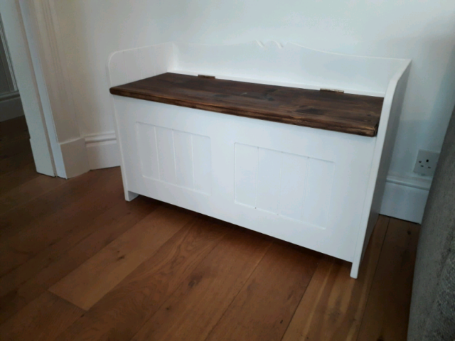 Prime Storage Bench With Seat In Stockton Heath Cheshire Gumtree Evergreenethics Interior Chair Design Evergreenethicsorg