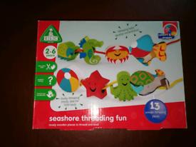 Early Learning Centre Seashore Threading Fun