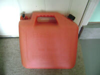25 litre gas can // jerry can
