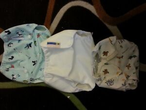 Three Mother-ease Diaper Covers