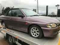 1997 P Ford Escort 1.6i 16v Calypso Convertible SPARE OR REPAIRS
