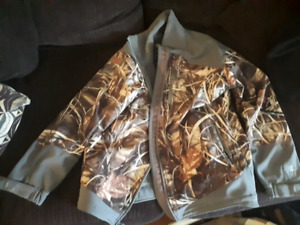 Banded camo/grey men's size large jacket