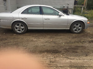 2001 Lincoln LS Berline 2500 nego