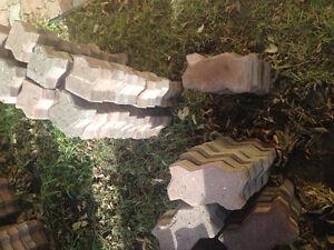 Zigzag paving stones/brick