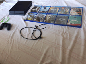 Sony PS4 W/Games