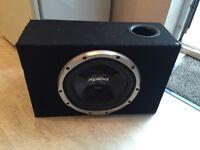 """10"""" Sony Xplod 1000w Subwoofer Speaker Juice Amp Amplifier Ported Enclosure"""