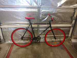Brand new critical cycles fixie