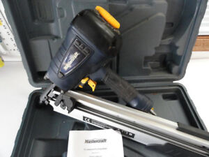 Mastercraft Framing Nailer, 3-1/2-in - Excellent Condition