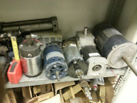 Electric Motors, Stepper Motors, Servo Motor, Reduction Gear