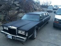 1984 Lincoln Limo trade for trailer