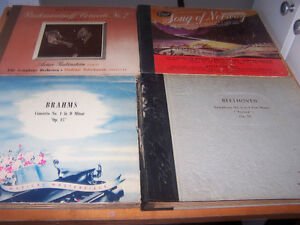 old 78 vinyl records from 1900 and more