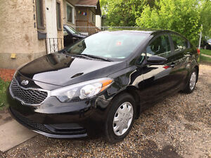 2016 KIA FORTE  ONLY 14 KM WARRANTY AVAILABLE