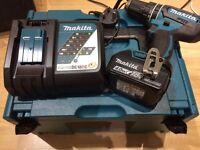 Makita drill set 18v