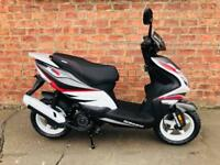 Sinnis Harrier 125 EFI learner legal – own this scooter for only £7.75 a week