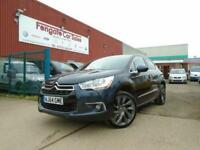 Citroen DS4 2.0 HDi DSport 5dr ONLY 89K FSH LEATHER PARK/AID C/CONTROL B/TOOTH