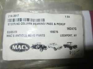 1942-73 FORD MERCURY STEERING COLUMN BEARING #21A-3517