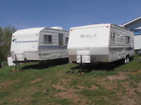 HOLIDAY TRAILERS AVAILABLE TO RENT