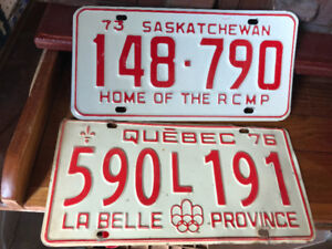 VINTAGE 1976 QUEBEC OLYMPIC PLATE