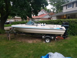 Boat Motor and Trailer Sale