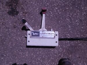 Johnson Outboard Motor Shift/Speed Control