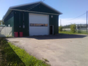 Shop Space for rent in Taylor, BC