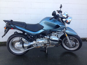 2002 BMW 1150R with hardbags, low km. Excellent condition