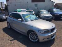 2008 57 BMW 120D 2.0TD M SPORT 3 DOOR HATCHBACK IMMACULATE WARRANTY