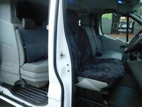 Vauxhall Vivaro SWB 6 seat factory fitted crew cab van with full service history (1)