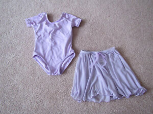 Purple Dance Skirt and Bodysuit size 2-4