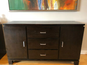 Wood Buffet - Moving Sale